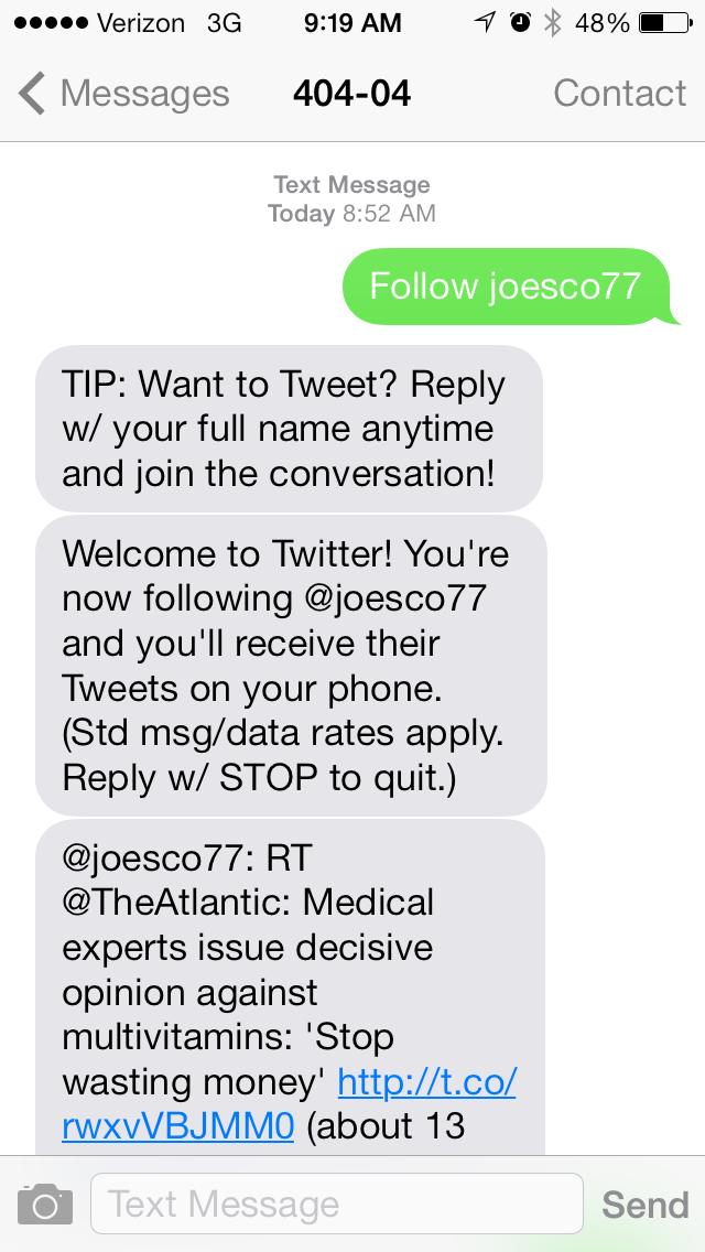 Twitter Bestätigungscode Sms